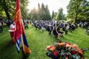 De herdenking van de Armeense genocide in het Volkspark.