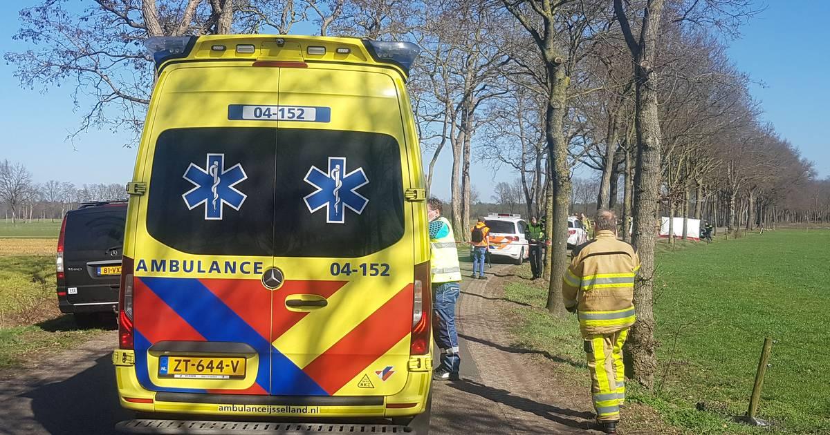 Automobilist komt om bij ongeval in Staphorst.