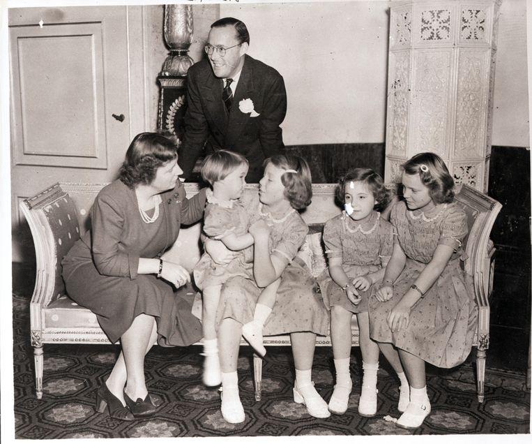 Schone schijn: koninklijke ruzie. Beeld Bettmann Archive