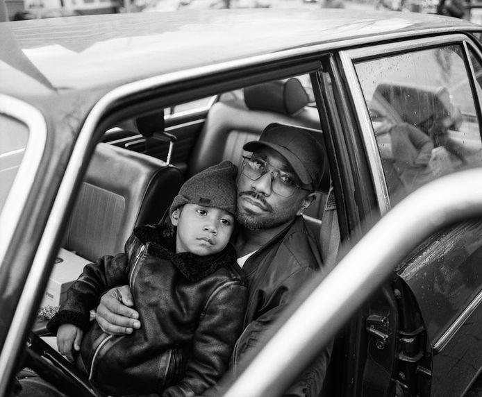 Adison en Ayani - Prijswinnende foto uit de serie 'The Life of Fathers'.