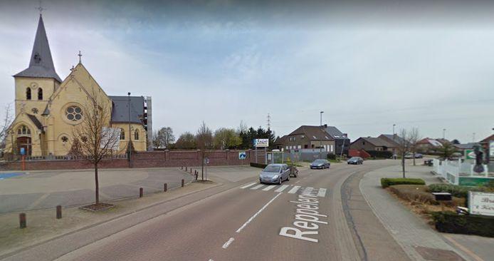 De Reppelerweg in Bocholt.