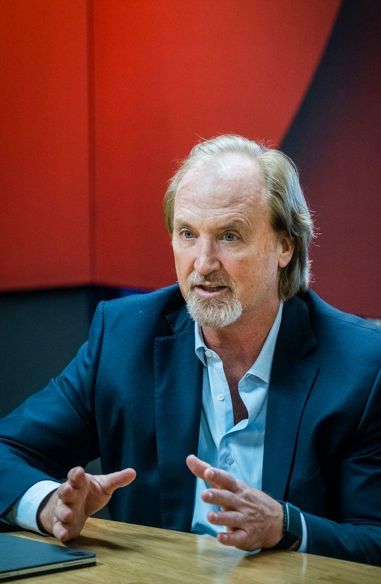 John Porter, CEO van Telenet. Beeld Tim Dirven