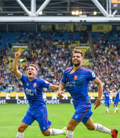 Robin Pröpper Arnhemse beul voor FC Twente met een Ronaldo-moyenne: 'Ik heb geen idee hoe dit nu gebeurt'