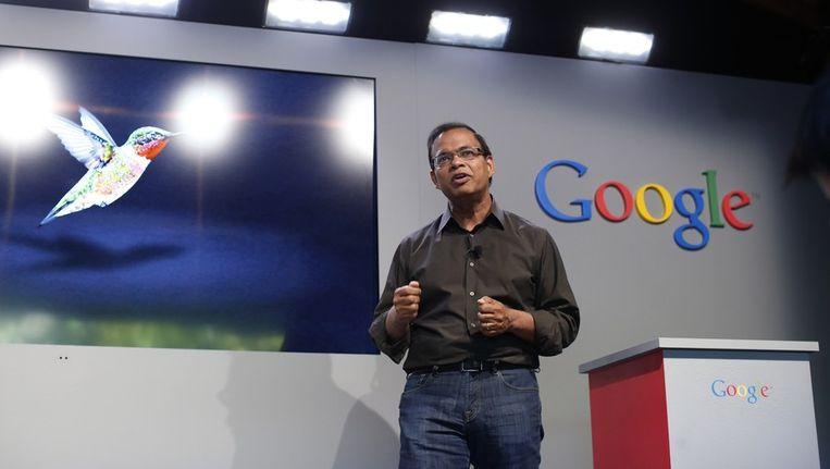 Amit Singhal, topman bij Google. Beeld REUTERS