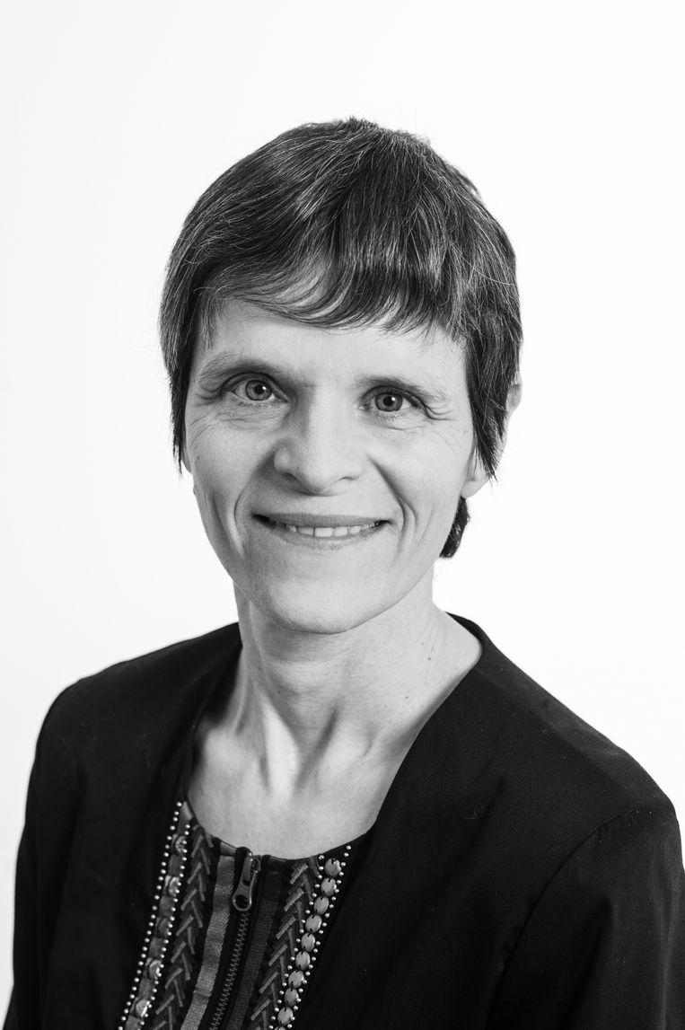 Judith Schoonenboom. Mantelzorger van haar echtgenoot Rob Leeuwenberg, tot diens dood op 25 maart 2019.  Zij is verbonden aan de Universiteit van Wenen. Beeld Barbara Mair