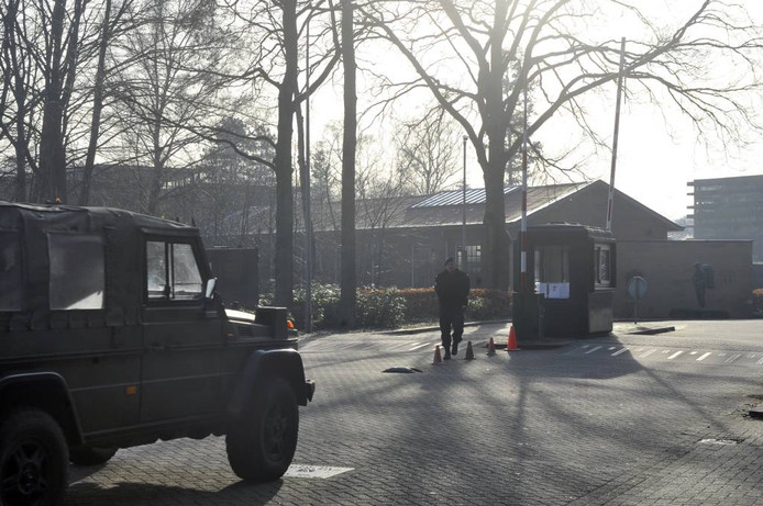Marinierskazerne in Doorn.