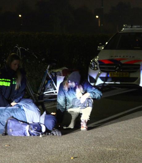 Bromfietser reddeloos op straat gevonden in Nieuwland