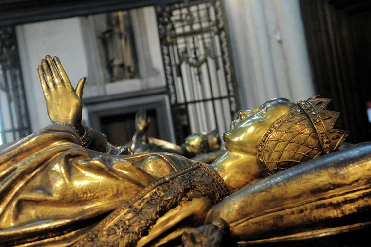 Het praalgraf van Maria van Bourgondië. Beeld RV