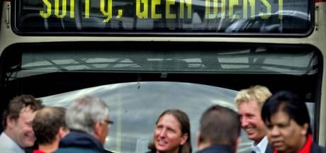 Openbaar vervoer 24 uur plat in drie grote steden