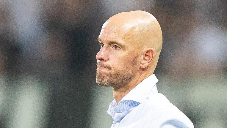 Trainer Erik ten Hag Beeld anp