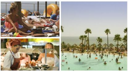 Zoveel drinken Britten in een all-in hotel aan de Costa del Sol