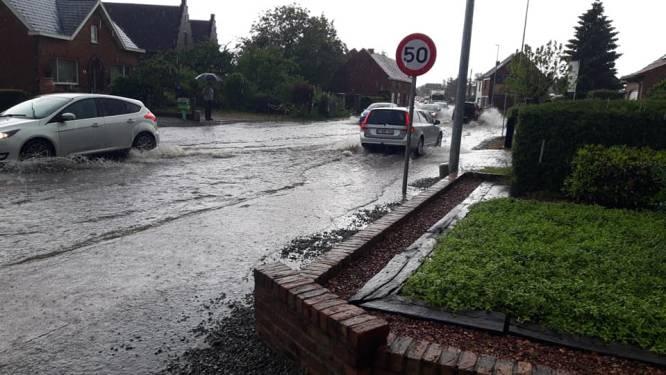 Veel wateroverlast in Boortmeerbeek, Haacht en Kampenhout na wolkbreuk