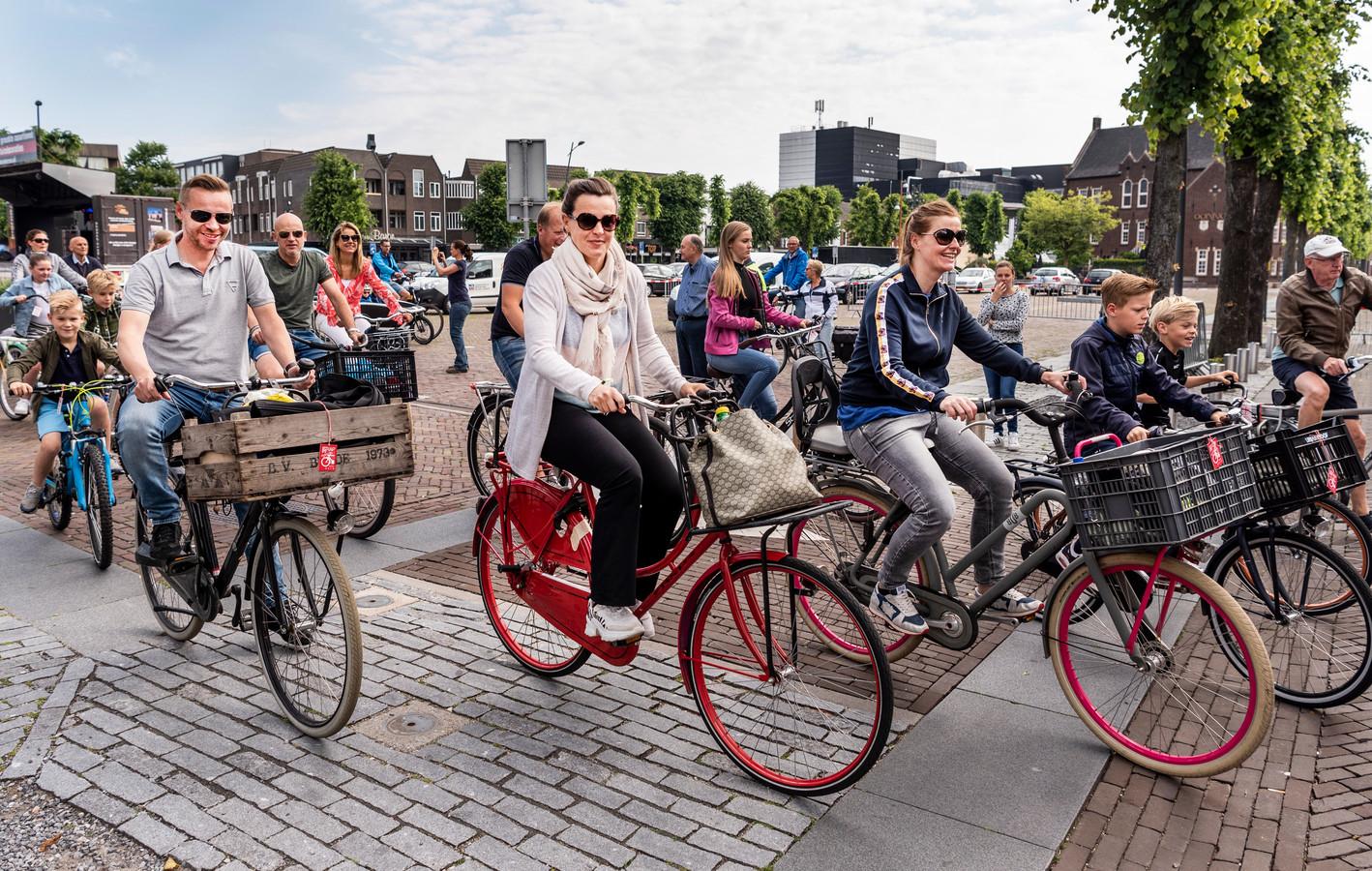 De Trap-in trekt elk jaar duizenden deelnemers. Dit jaar werd de fietstocht afgelast.