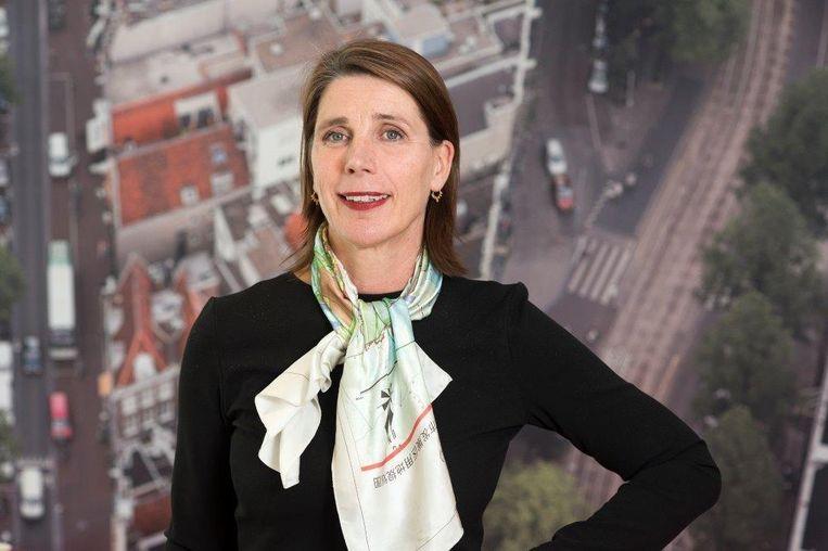 Esther Agricola, directeur Ruimte en Duurzaamheid gemeente Amsterdam had veel contact met de burgemeester over de toekomst van de stad Beeld George Maas