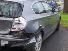 Automobilist raakt gewond bij kop-staartbotsing in Oldebroek