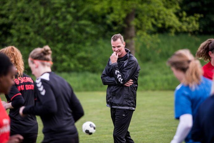 Trainer Martin Wijnbergen