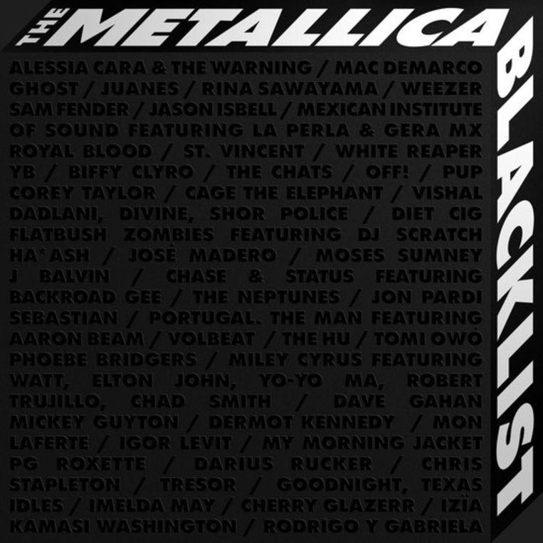 The Metallica Blacklist bundelt vijftig Metallica-covers gebracht door evenveel verrassende artiesten uit alle windstreken en muzikale genres. Beeld