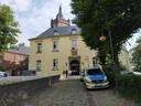 De rechtbank in Kleef waar vandaag de rechtszaak tegen sekteleider Robert B. is begonnen.