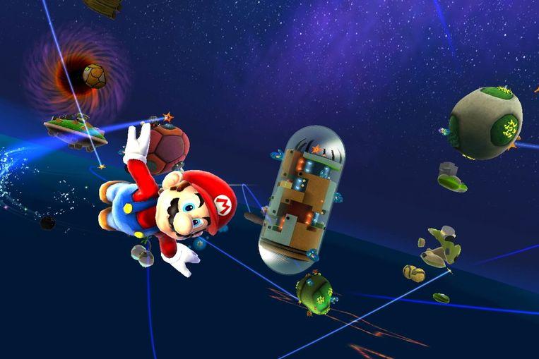 Super Mario Galaxy Beeld Nintendo