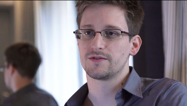 Klokkenluider Edward Snowden Beeld AP