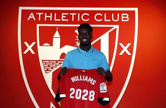 Iñaki Williams verlengde maandag zijn contract bij Athletic Club tot 2028.