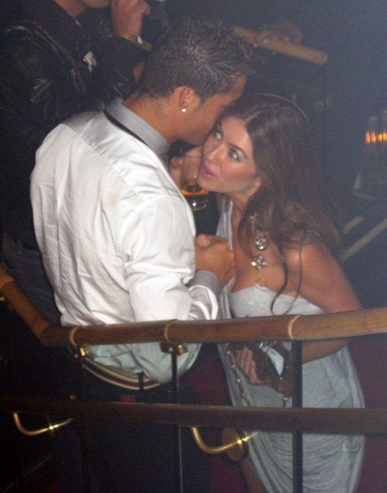 Cristiano Ronaldo en Kathryn Mayorga.