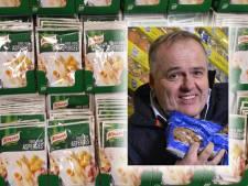 Die Grenze-baas Bert is eindelijk van zijn aspergesaus af: 'Alle 20.000 zakjes zijn weg'