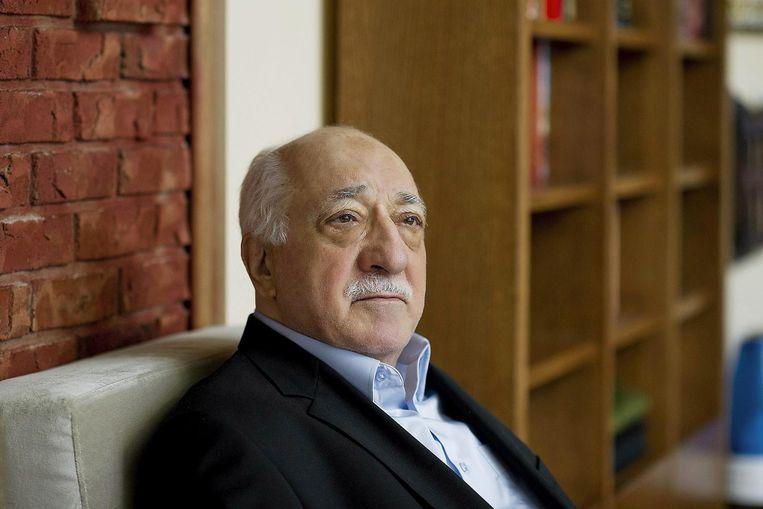 De Turkse liberale islamitische geestelijke Fethullah Gülen. Beeld EPA