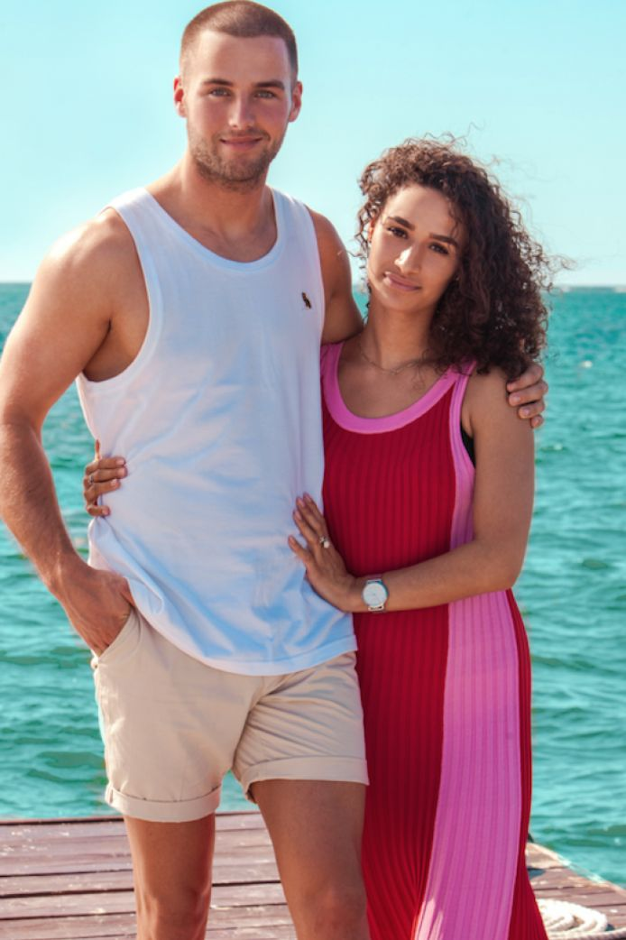 Donny en Amijé zijn sinds twee jaar samen.