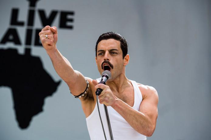 Een scene uit de film Bohemian Rhapsody.