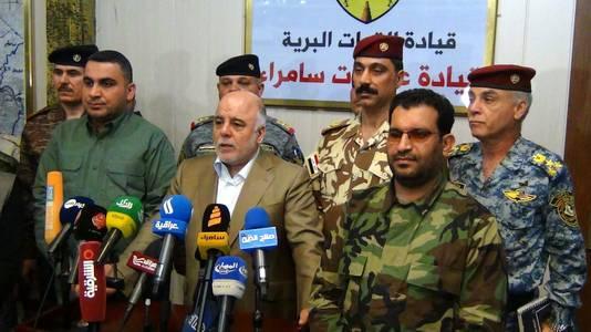 Haider al-Abadi, Premier ministre irakien.