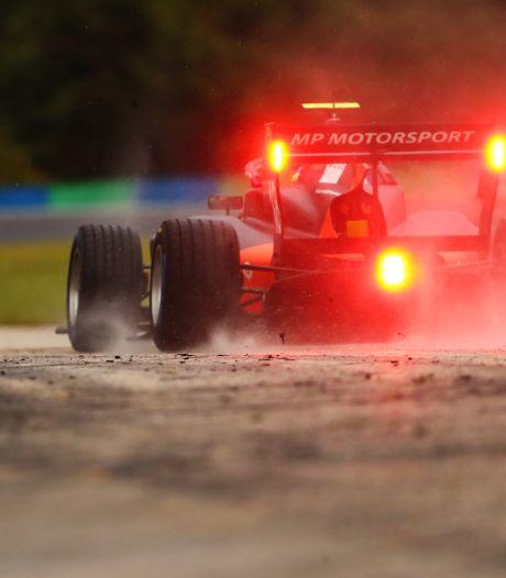Enorme teleurstelling voor smaakmaker Viscaal uit Albergen in Formule 3 race