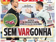 Portugese media foeteren op afwezige VAR: 'Makkelie zegt sorry'