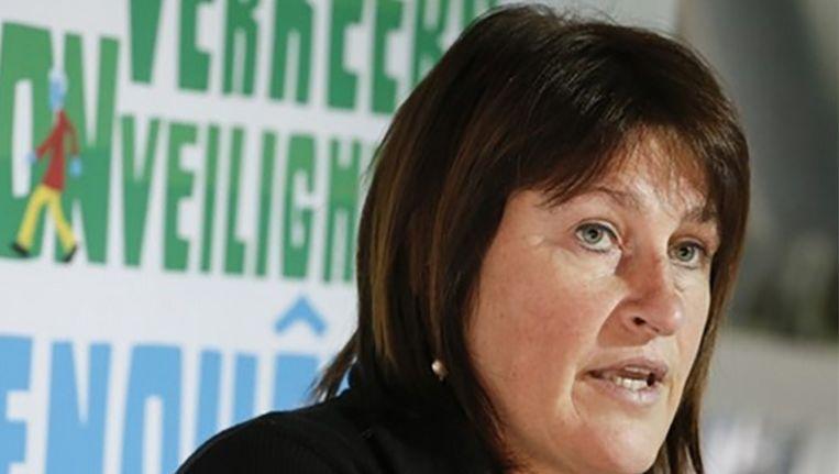 Minister van Mobiliteit Jacqueline Galant
