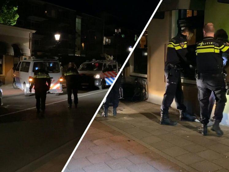 Tientallen agenten met honden grijpen in bij illegaal feest in Deventer