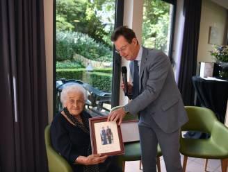 Paula Leysen viert 100ste verjaardag