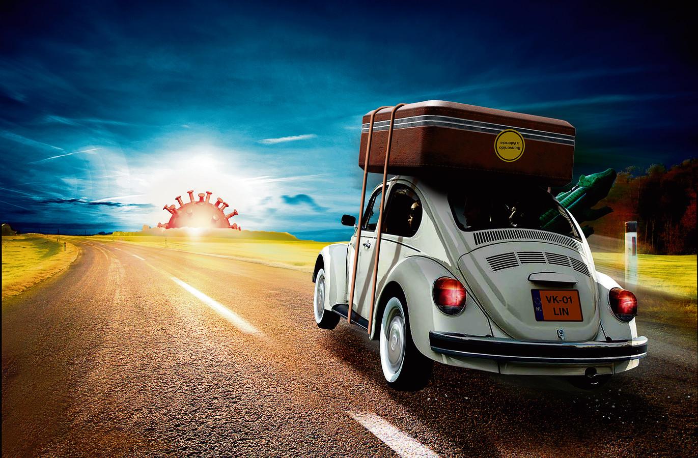 Ondanks dat veel Europese landen volgende week de grenzen weer openen voor toeristen, blijven de meeste mensen deze zomer in Nederland.
