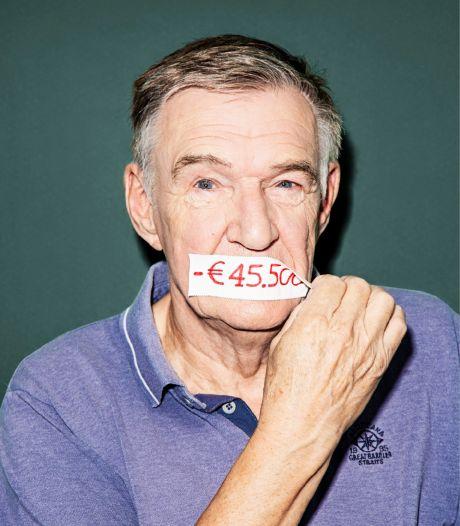 Arnold (69) zat in de schulden en loste de zorgkosten van zijn overleden vrouw pas na 13 jaar af