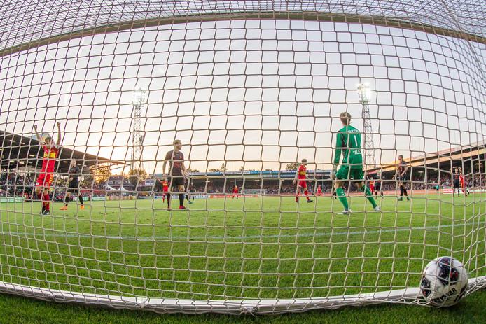 GA Eagles scoorde erop los in 2018 tegen Jong FC Utrecht.