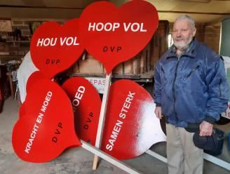 DVP vervangt wenspanelen door hartjes om alle inwoners hart onder de riem te steken