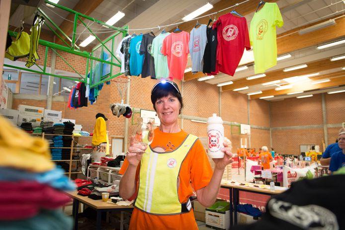 BORNEM - Marleen Van Assche is verantwoordelijke voor de Dodentocht Shop