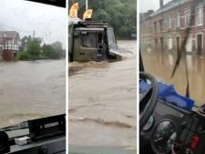 Les images impressionnantes de l'intervention de l'armée lors des inondations