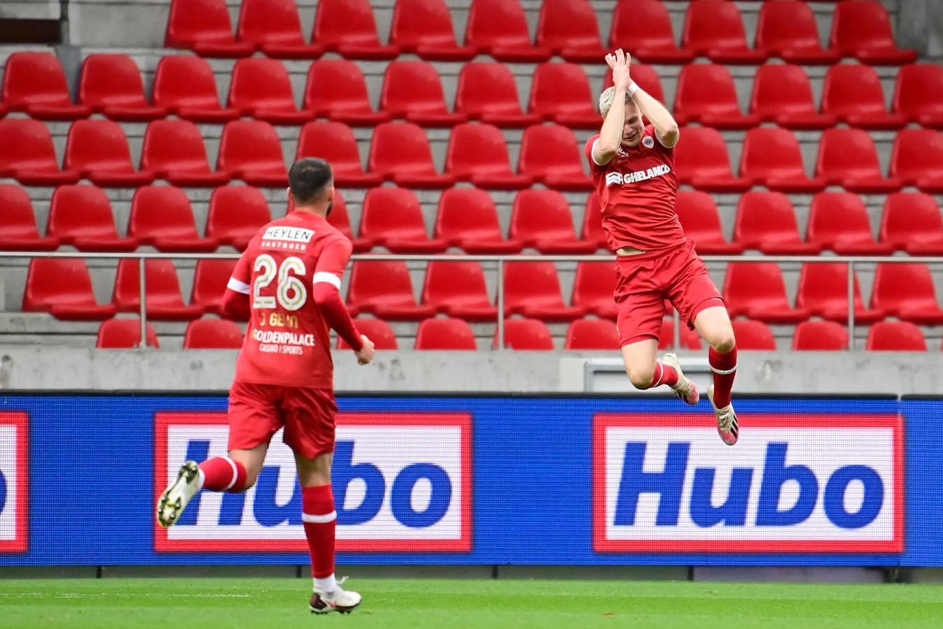 En of Simen 'Cristiano' Juklerød blij was met zijn doelpunt.