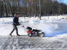 Trotse gezichten bij Renkumse ijsvereniging Vooruit: baan gaat zaterdagmiddag open