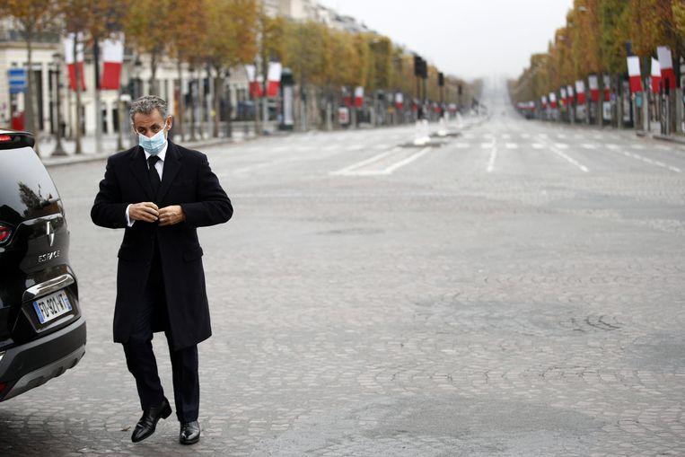 Oud-president Nicolas Sarkozy.  Beeld Photo News