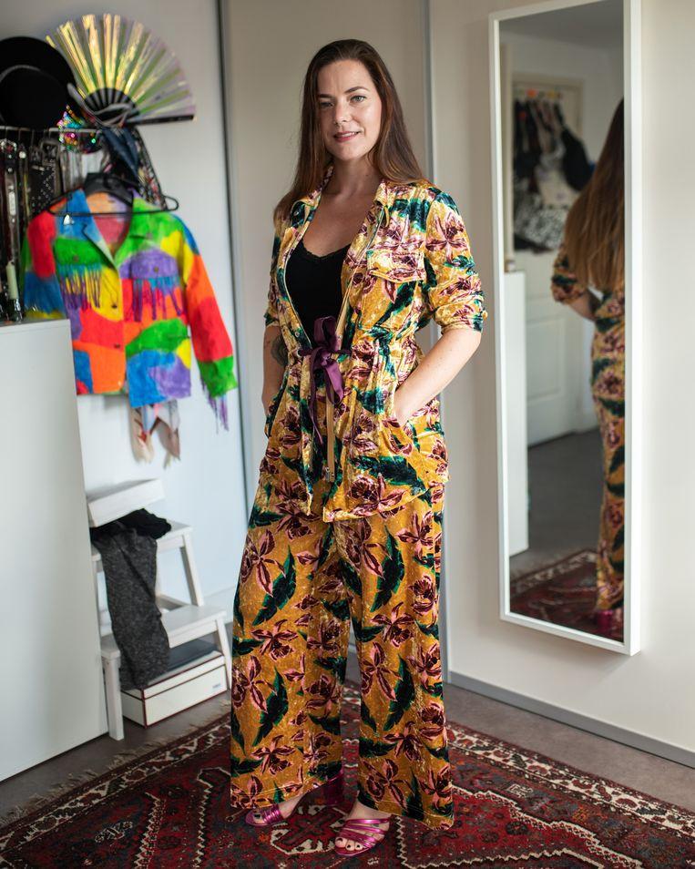 Denise Kooij (artiestennaam: Roxy Galore): 'Het nachtleven is een enorm creatieve plek: je kunt het zo gek niet bedenken of er is ruimte voor.' Beeld Sabine van Wechem