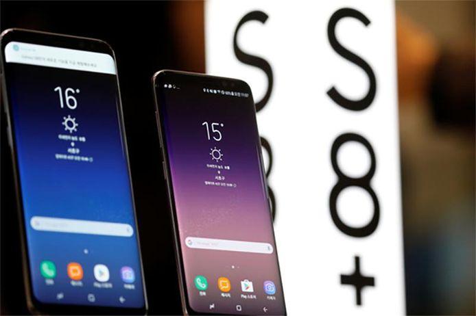 De Samsung Galaxy S8 en 8+