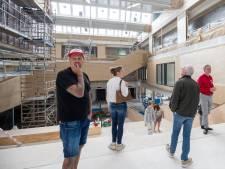 Vernieuwbouw van CLV nadert zijn voltooiing: 'Blij dat ik niet meer op school zit,  maar hier zou ik kunnen wennen'