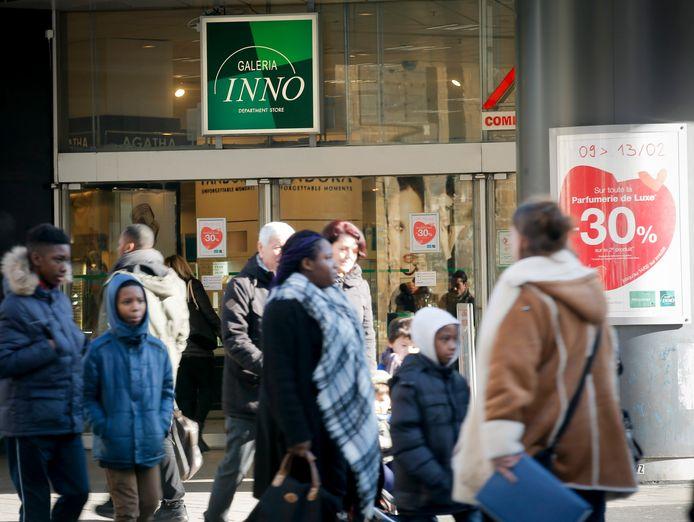 Een vestiging van Inno in de Nieuwstraat in Brussel.