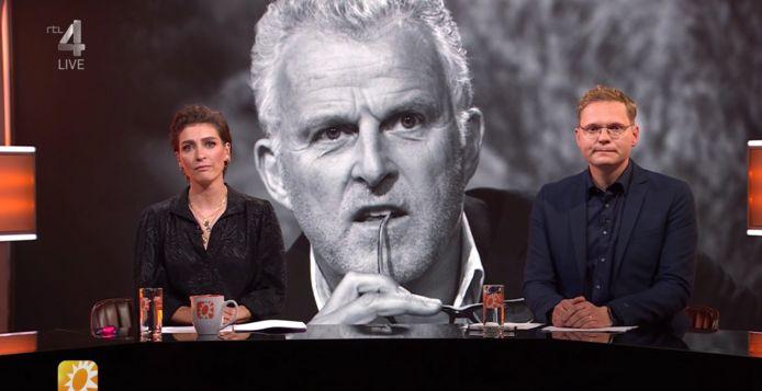 Vivienne van den Assem en Luuk Ikink presenteerden de uitzending vanavond.